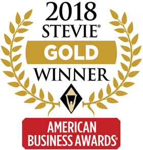 2018 Stevie Gold American Business award