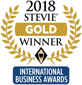 2018 Stevie Gold International Business award